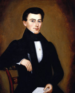 A Portrait Of A Gentleman by Orlando Hand Bears