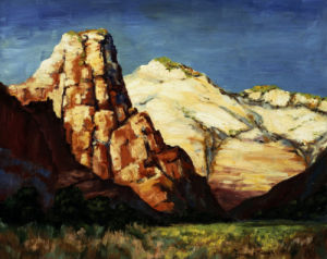 Canyon Landscape by Franz A. Bischoff