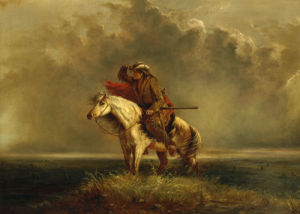 The Lost Greenhorn by Alfred Jacob Miller