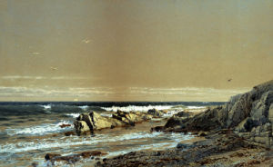 Taylor's Point, Newport, Rhode Island by William Trost Richards