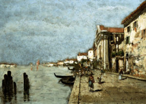 Venice by Max Weyl