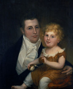 Portrait Of Dr by James Peale