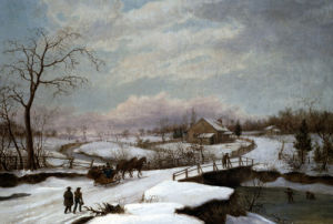 Winter Activity by Thomas Birch