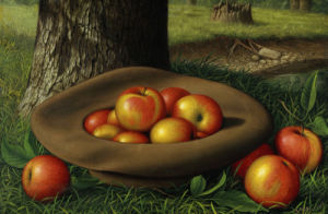 Apples In A Brown Hat by Levi Wells Prentice