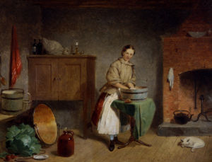 A Dame In The Kitchen by Francis William Edmonds