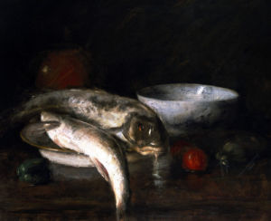Still Life With Fish by William Merritt Chase