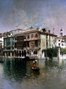 Venice, The Grand Canal by Robert Frederick Blum