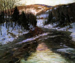 Winter Stream by George Gardner Symons