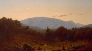 Twilight On Hunter Mountain by Sanford Robinson Gifford