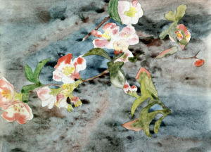 Peach Blossoms by Charles Henry Demuth