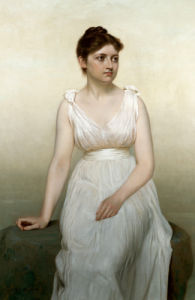 The Artist's Daughter by John George Brown