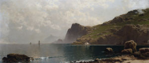 Mist Rising Off The Coast by Alfred Thompson Bricher