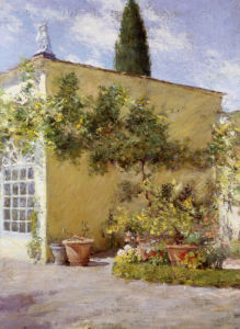 Orangerie Of The Chase Villa, Florence, Italy by William Merritt Chase