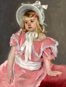 Sara Seated, Leaning On Her Left Hand by Mary Cassatt