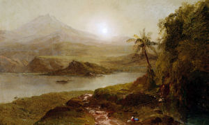 Mountain Landscape by Frederic Edwin Church