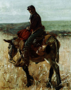 Union Soldier by Gilbert William Gaul