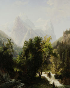 Path Through The Mountains by William Trost Richards