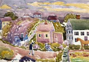 Rockport, Mass, 1912 by Maurice Prendergast
