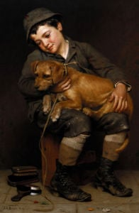 Friends by John George Brown