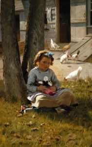 At Home by John George Brown