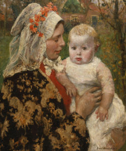 The Young Mother by Gari Melchers