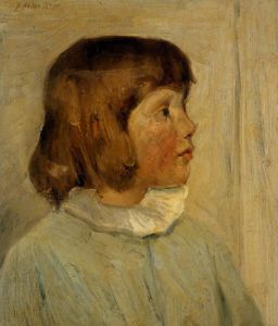 My Little Daughter by Julian Alden Weir