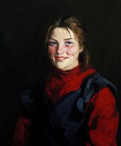 Achill Girl by Robert Henri