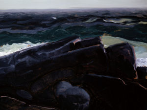 Evening Sea by George Wesley Bellows