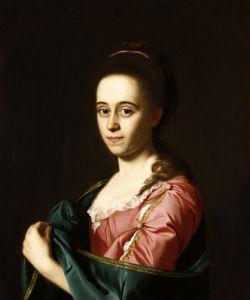 Mrs Joshua Henshaw II (Catherine Hill) by John Singleton Copley