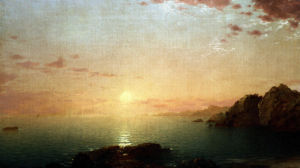 Coastal Sunset by John Frederick Kensett