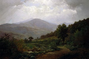 Bouquet Valley In The Adirondacks by William Trost Richards