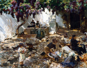 Women At Work by John Singer Sargent