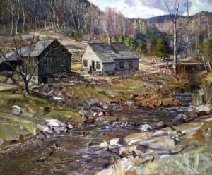 Early Spring Landscape by George Gardner Symons