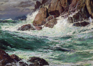 Stormy Seas by Edward Henry Potthast