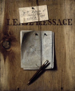Leave Message by Descott Evans
