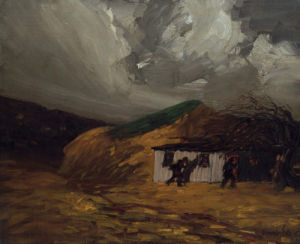 Storm In The Bronx by George Luks