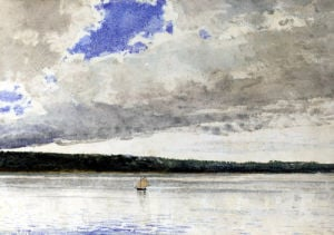 Small Sloop by Winslow Homer