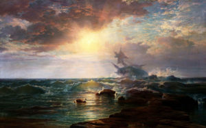 The Calm After The Storm by Edward Percy Moran