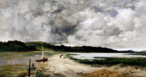 A Passing Shower On Long Island by Thomas Moran