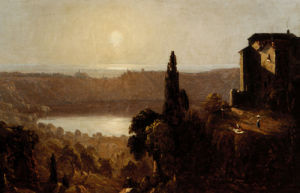 Study For Lake Nemi by Sanford Robinson Gifford