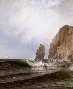 Breaking Surf by Alfred Thompson Bricher