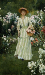 Picking Summer Flowers by Francis Coates Jones