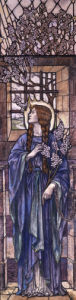 Hope: Design For Stained Glass At All Saints Church, Eastchurch by Karl Parsons