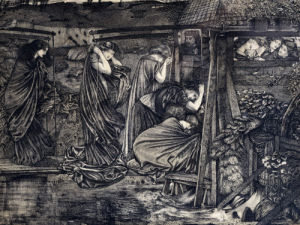 The Wise And Foolish Virgins by Sir Edward Burne-Jones
