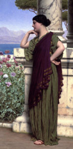 Tender Thoughts by John William Godward
