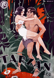 Tarzan The Ape Man, 1932 by Swedish OneSheet Poster