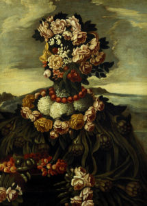 Spring, One Of The Four Seasons by Giuseppe Arcimboldo