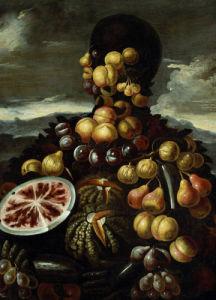 Summer, One Of The Four Seasons by Giuseppe Arcimboldo