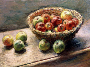 A Bowl Of Apples by Christie's Images
