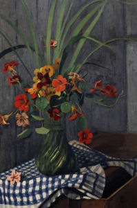Nasturtiums by Felix Vallotton
